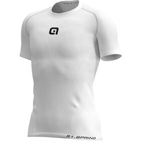 Alé Cycling Seamless S1 Spring Maglietta baselayer a maniche corte Uomo, bianco
